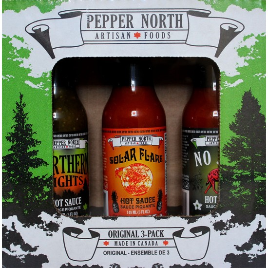 Original 3-Pack Hot Sauce Gift Set