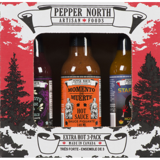 Extra Hot Sauce 3-Pack Gift Set